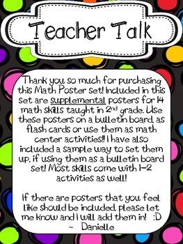 2nd Grade Math Posters