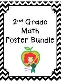 2nd Grade Math Posters Bundle