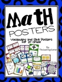 2nd Grade Math Posters