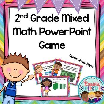 2nd Grade Math PowerPoint Game Show