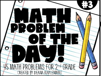 2nd Grade Math Problem of the Day (3rd Nine Weeks)