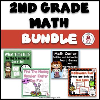 2nd Grade Math Resources - BUNDLE