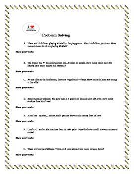 2nd Grade Math Review