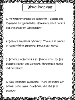 2nd Grade Math: Review the Common Core