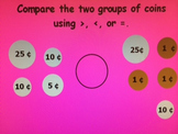 2nd Grade Place Value, Money, and Regrouping Review: Common Core