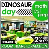2nd Grade Math Review   Dinosaur Room Transformation