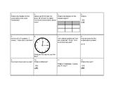 2nd Grade Math Review Egg Hunt Scoot