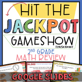 2nd Grade Math Review End of Year Game Show Google Slides | Distance Learning