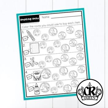 2nd Grade Math Review Packet BUNDLE