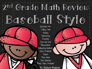 2nd Grade Math Review (Playing Baseball)