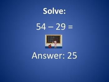 2nd Grade Math Review PowerPoint