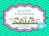 2nd Grade Math Review (Spring Themed)