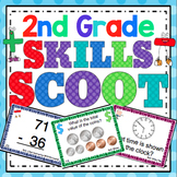 2nd Grade Math Skills Scoot Mega Bundle