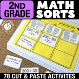 2nd Grade Math Sorts | 2nd Grade Math Games | Math Interac