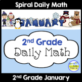 2nd Grade Math Spiral Review JANUARY Morning Work or Warm ups