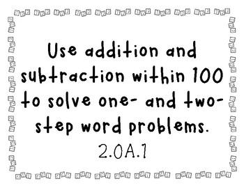 2nd Grade Math Standards