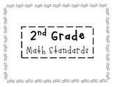 2nd Grade Math Standards
