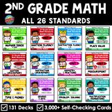 2nd Grade Math Standards Boom Cards™ | MEGA BUNDLE