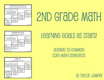 2nd Grade Math Learning Goals