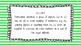 2nd Grade Math Standards on Green Striped Frame