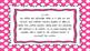 2nd Grade Math Standards on Pink Polka Dotted Frame
