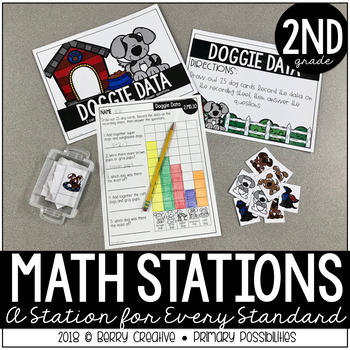 2nd Grade Math Stations