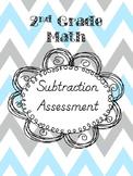2nd Grade Math Subtraction Assessment