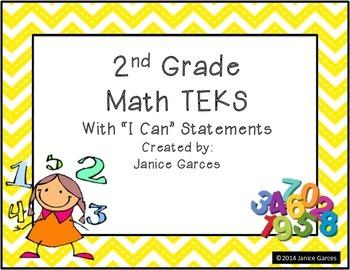2nd Grade Math TEKS
