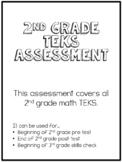 2nd Grade Math TEKS Assessment