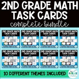 2nd Grade Math Task Cards: GROWING BUNDLE - 10 Themes!