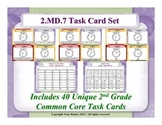 2nd Grade Math Task Cards 2 MD.7 Practice of Time Measurement 2.MD.7
