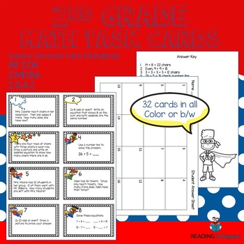Math Centers:  Addition and Subtraction Task Cards