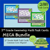 2nd Grade Geometry Task Cards: 2.G Geometry Task Cards 2nd Grade Math Task Cards