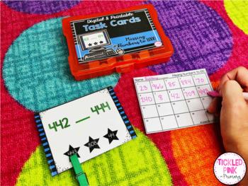 2nd Grade Math Task Cards (Digital & Printable)