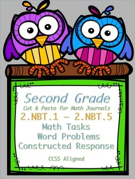 2nd Grade Math Tasks 2.NBT.1 - 2.NBT.5