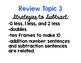 2nd Grade Math Topic 3 Review for Test: adapted from Envisions