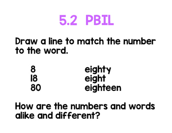 2nd Grade Math Topic 5 Pack adapted from Envisions