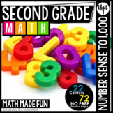 2nd Grade Math: Unit 1 Number Sense to 1,000