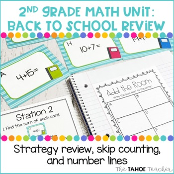 Strategy Review, Skip Counting, Number Lines   A 2nd Grade Math Unit 1