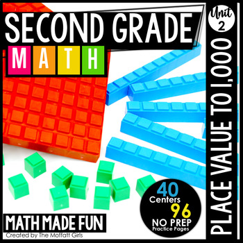 2nd Grade Math: Place Value up to 1,000