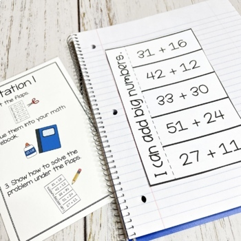 2nd Grade Math Unit: Addition and Subtraction Without Regrouping