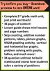 2nd Grade Math Unit & Test: Graphs, Data Analysis, Skip Co