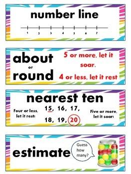 2nd Grade Math Vocabulary