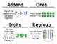 2nd Grade Math Vocabulary Cards: 2-Digit Addition