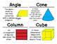 2nd Grade Math Vocabulary Cards: Geometry and Fraction Concepts