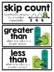 2nd Grade Math Vocabulary Word Cards