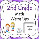 2nd Grade Math Warm Up Bundle