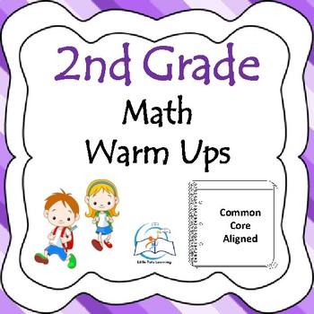 2nd Grade Math Warm Up Bundle