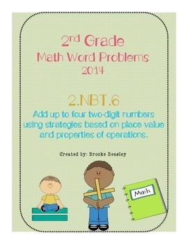 2nd Grade Math Word Problems 2014 ( 2.NBT.6)