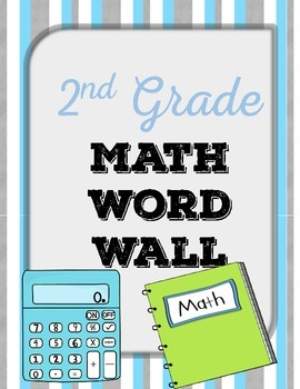 {FREE} 2nd Grade Math Word Wall